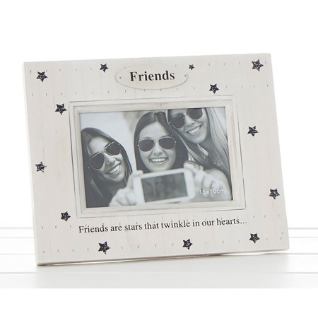 Star Print Photo Frame - Friends (6x4\